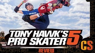 TONY HAWK PRO SKATER 5 - REVIEW (Video Game Video Review)