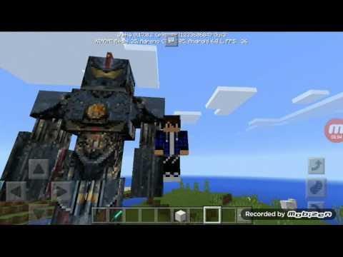 Мод на работа из Тихо океанского рубежа в Minecraft