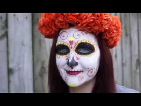 Paper Mexican Marigold Flower Headpiece Craft