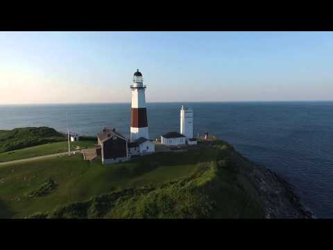 Drone video Montauk NY