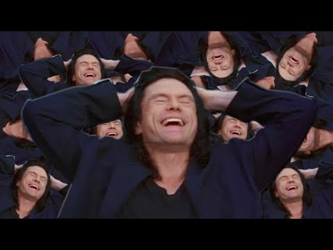 An Hour of Tommy Wiseau Laughing