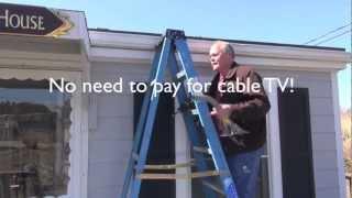HDTV Antenna Install
