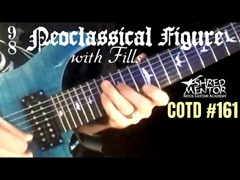 9/8 Neoclassical Figure with Fills | ShredMentor Challenge of the Day #161