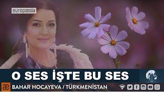 THAT VOICE THIS VOICE - MY WISH - BAHAR HOCAEWA - TURKMENISTAN STATE FOLK ARTIST  MERV