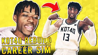 THE KOT4Q REBUILDING CHALLENGE CAREER SIMULATION IN NBA 2K20