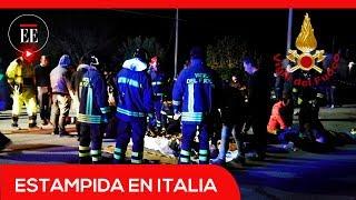 Estampida en Italia: seis personas murieron durante un concierto de rap | El Espectador