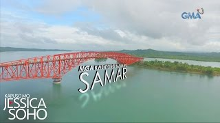 Video Kapuso Mo, Jessica Soho: Banana boat ride sa ilalim ng San Juanico Bridge sa Samar download MP3, 3GP, MP4, WEBM, AVI, FLV Agustus 2017