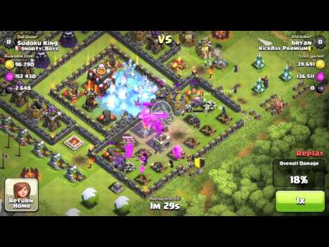Ultra Attack- clash of clans NEW STRATEGY