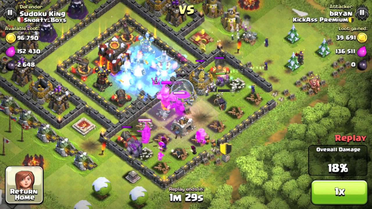 ultra clash of clans -#main