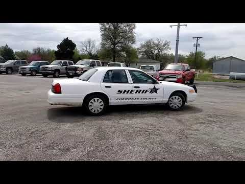 2008 Ford Crown Victoria Police Interceptor for sale at auction | bidding closes May 21, 2019