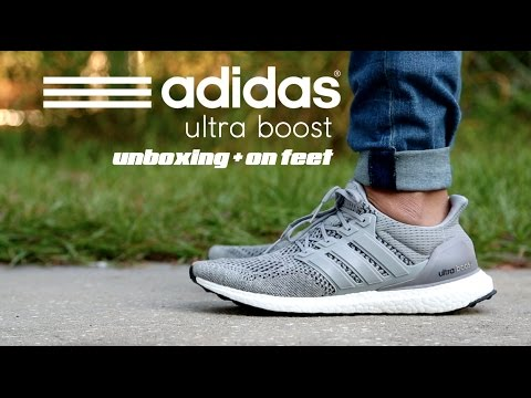 los angeles e7ee4 851fa Adidas Ultra Boost Silver Unboxing + On Feet