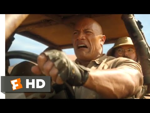 Jumanji: The Next Level (2019) - Ostrich Chase Scene (1/10) | Movieclips