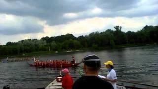 Копия видео Экстрим  гребля на каное-драконах