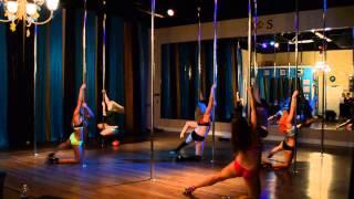 Earned It - The Weeknd Pole Dance Freestyle 2-23-15