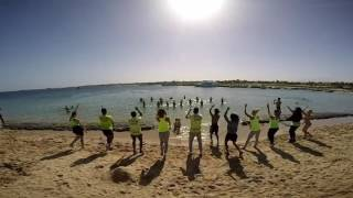 The Sunrise Select Royal Makadi Resort & Aqua Park  Animation Team Water Gym program video 2(The Animation Team dancing on the beach, guests dancing in the sea :-), 2016-11-15T23:28:13.000Z)
