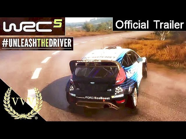 WRC 5  Announcement Trailer