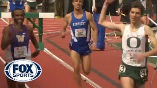 Oregon runner prematurely celebrates win, gets passed at finish line