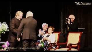 XVIII FH Mazurkas - Daniel Olbrychski Lechowi Wałęsie