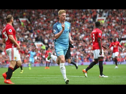 Manchester United vs Manchester City 2-1 All Goals And Highlights 2016/2017 Premier League