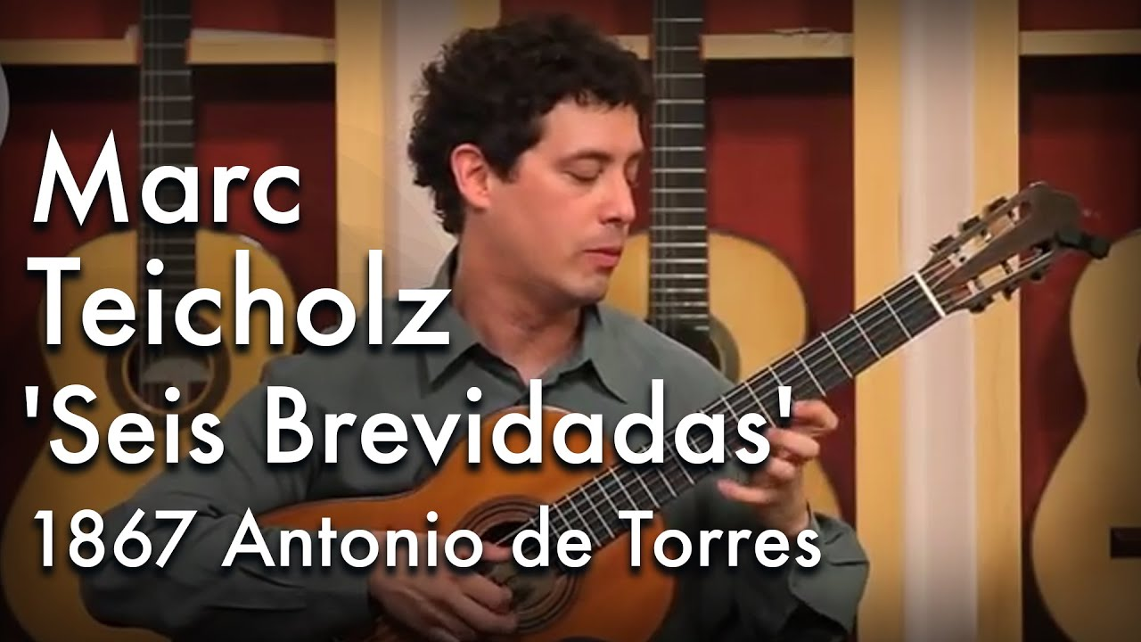 Assad 'Seis Brevidadas' and 'Valseana' played by Marc Teicholz