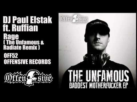 DJ Paul Elstak ft. Ruffian - Rage (The Unfamous & Radiate Remix)