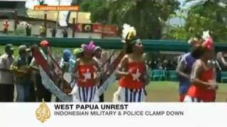Al Jazeera report on Indonesian military violence against West Papuan civilians at Peoples Congress