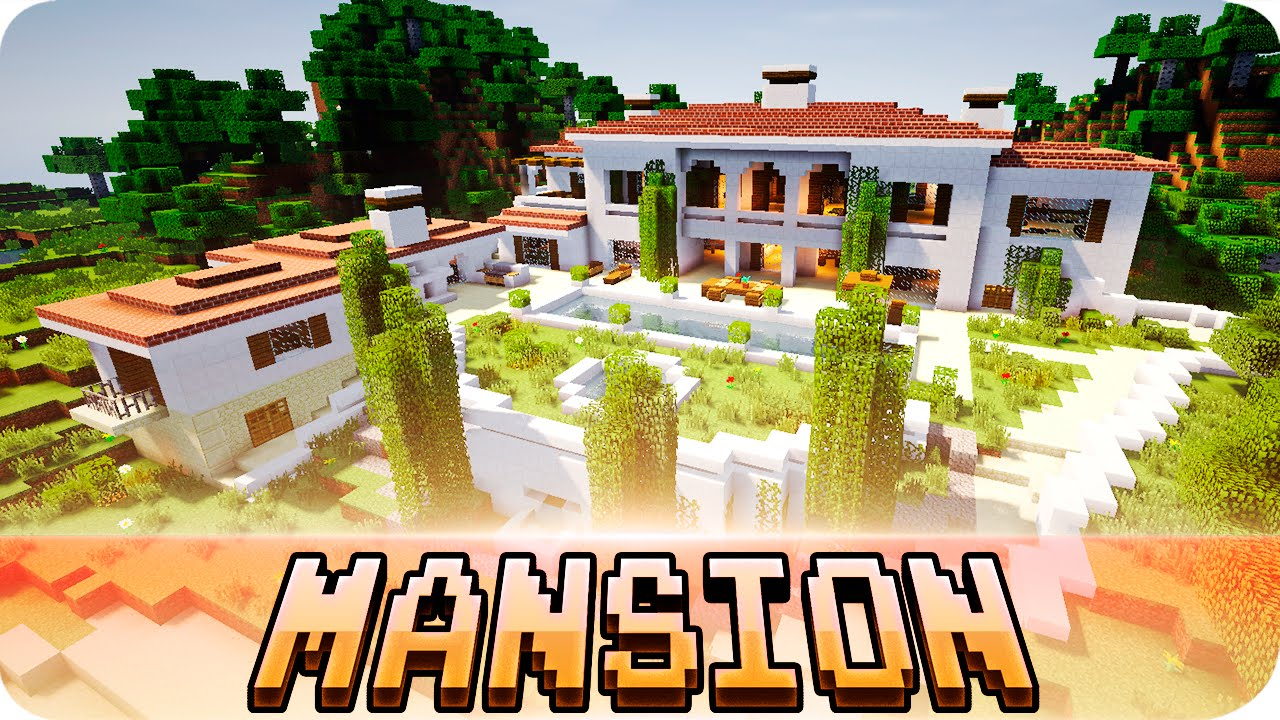 Minecraft beautiful italian mansion house map w House map online free