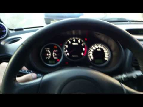 Тюнинг приборной панели Subaru WRX 06