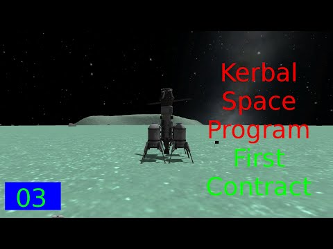 KSP First Contract Ep 3 - Satellite Time