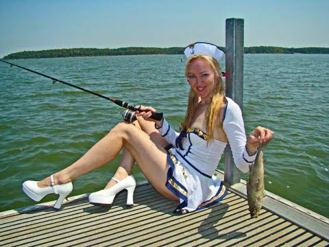 Как то на рыбалке возле нас