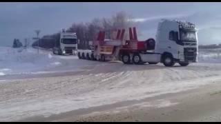 Перевозка негабаритных грузов по России(, 2017-03-15T06:35:19.000Z)