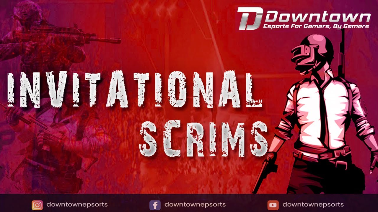 [தமிழ்] Downtown Esports Invitational Scrims | #PUBGMobile #DTScrims | Caster: #PurgeSlayer