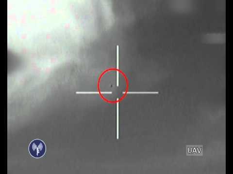Algemeiner Video: Israel Air Force Downs Drone Flying Over Israel
