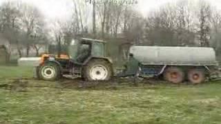 Wpadka; Massey Ferguson 6170 wyciąga Renault 155,54 power