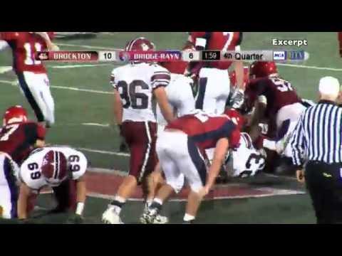 MIAA Playoffs - Brockton High School Football Vs. Bridgewater-Raynham (11-6-15)
