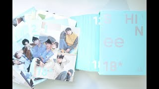 Unboxing SHINee's 2018 Season's Greetings