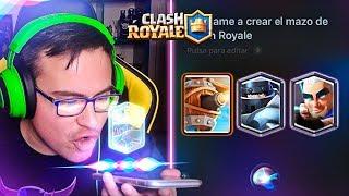 SIRI ME HACE EL MAZO DE GUERRA ¡¡LOCURA!! | Clash Royale thumbnail