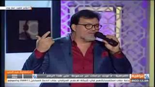 عبد فلك يغني في لقاء قناة العراقية15.1.2018