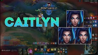 Caitlyn Montage 8 - Insane Caitlyn - League of Legends