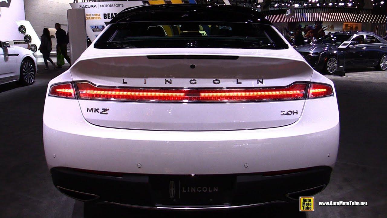 Lincoln MKZ Hybrid Reserve 2020 - Walkaround Exterior Interior Tour