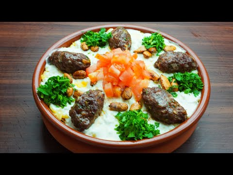 فتة-الكباب-المشوي-الملكية-الفاخرة---how-to-make-arabic-kebab-fatteh-recipe