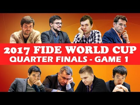 2017 WORLD CUP QUARTERFINALS Game 1: Yasser Seirawan & Hansen