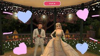 МОЯ СВАДЬБА В AVAKIN LIFE | Avakin Life | Свадьба