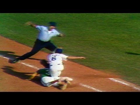 1974 WS Gm2: Marshall picks off Washington in ninth