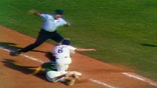 1974 WS Gm2: Marshall picks off Washington in ninth
