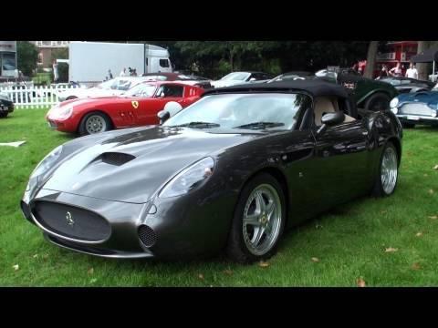 Ferrari 550 GTZ Zagato - £1 million, One-of-Five! Startup and ...