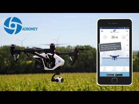 Aeromey GmbH im SWR - DFS Drohnen-App für mehr Sicherheit