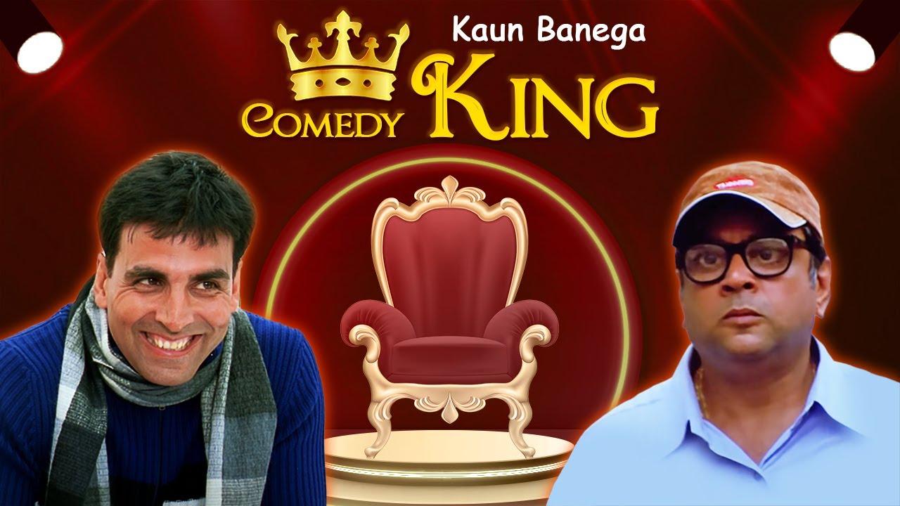 Akshay Kumar- Paresh Rawal - Hindi Bollywood Comedy Scenes - Kaun Banega Comedy King