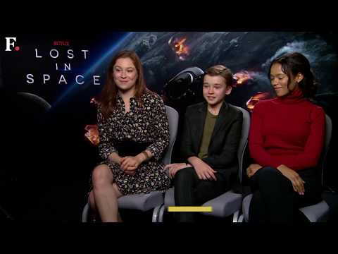 Lost in Space: Mina Sundwall, Maxwell Jenkins and Taylor Russell discuss their Netflix