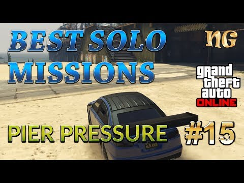 GTA 5 Online: Best Solo Missions - Pier Pressure. Making Money more then $11000 and 2800RP